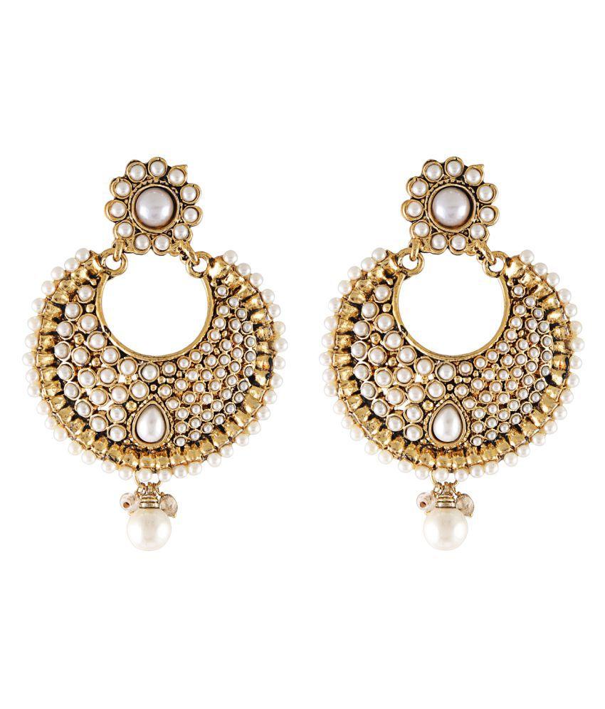 Grace Jewels cultured pearl chakra earrings