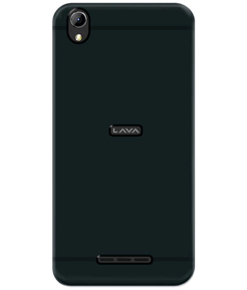 Lava Z60 Plain Cases Mobik - Black