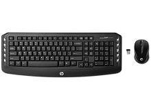 HP Multimedia Black Wireless Keyboard Mouse Combo