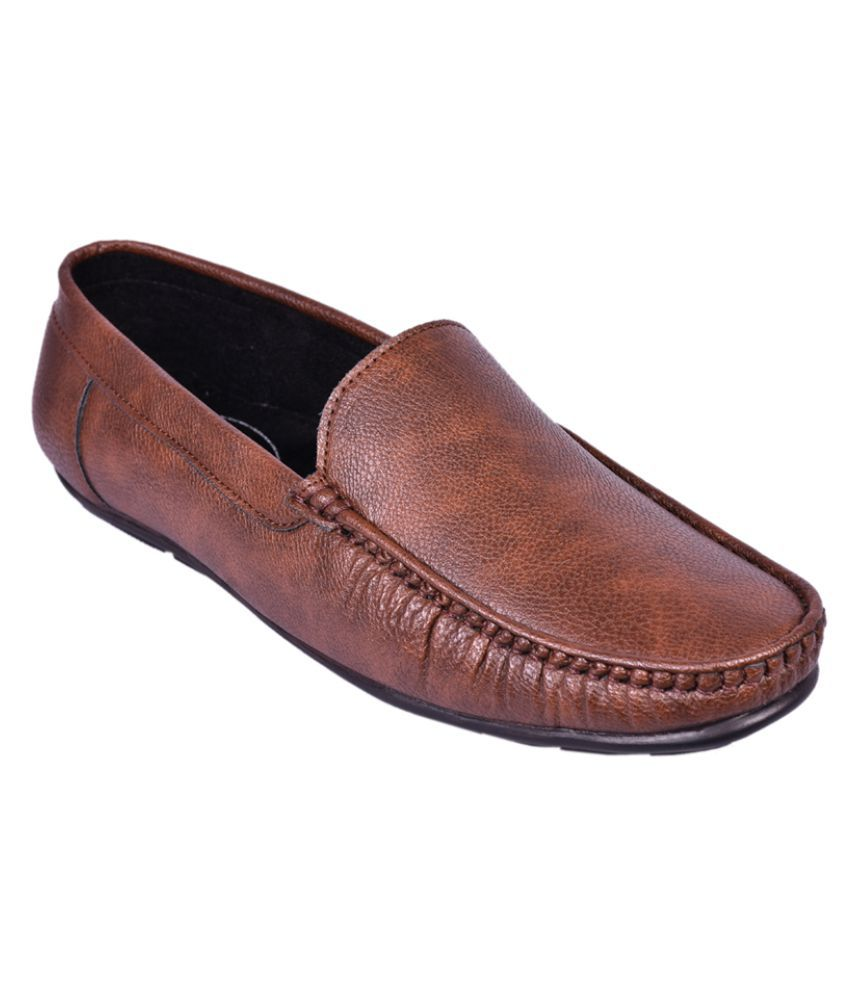 Adler Lifestyle Brown Casual Shoes