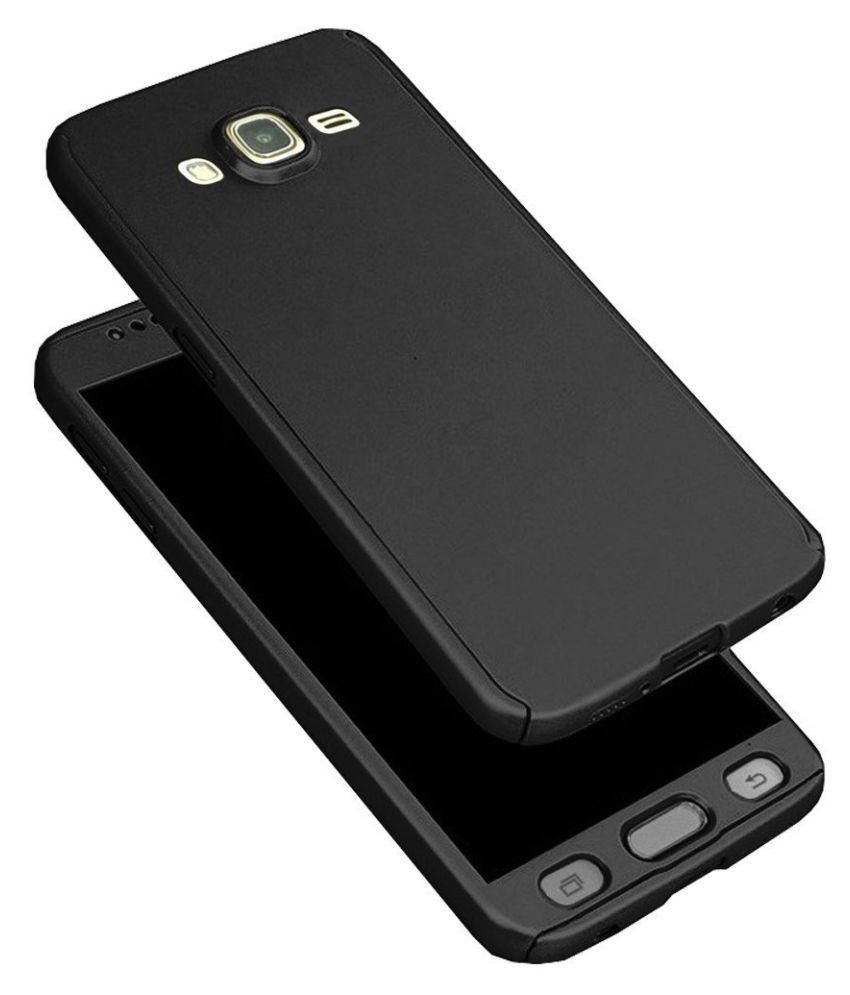 Samsung Galaxy On7 Bumper Cases ClickAway - Black