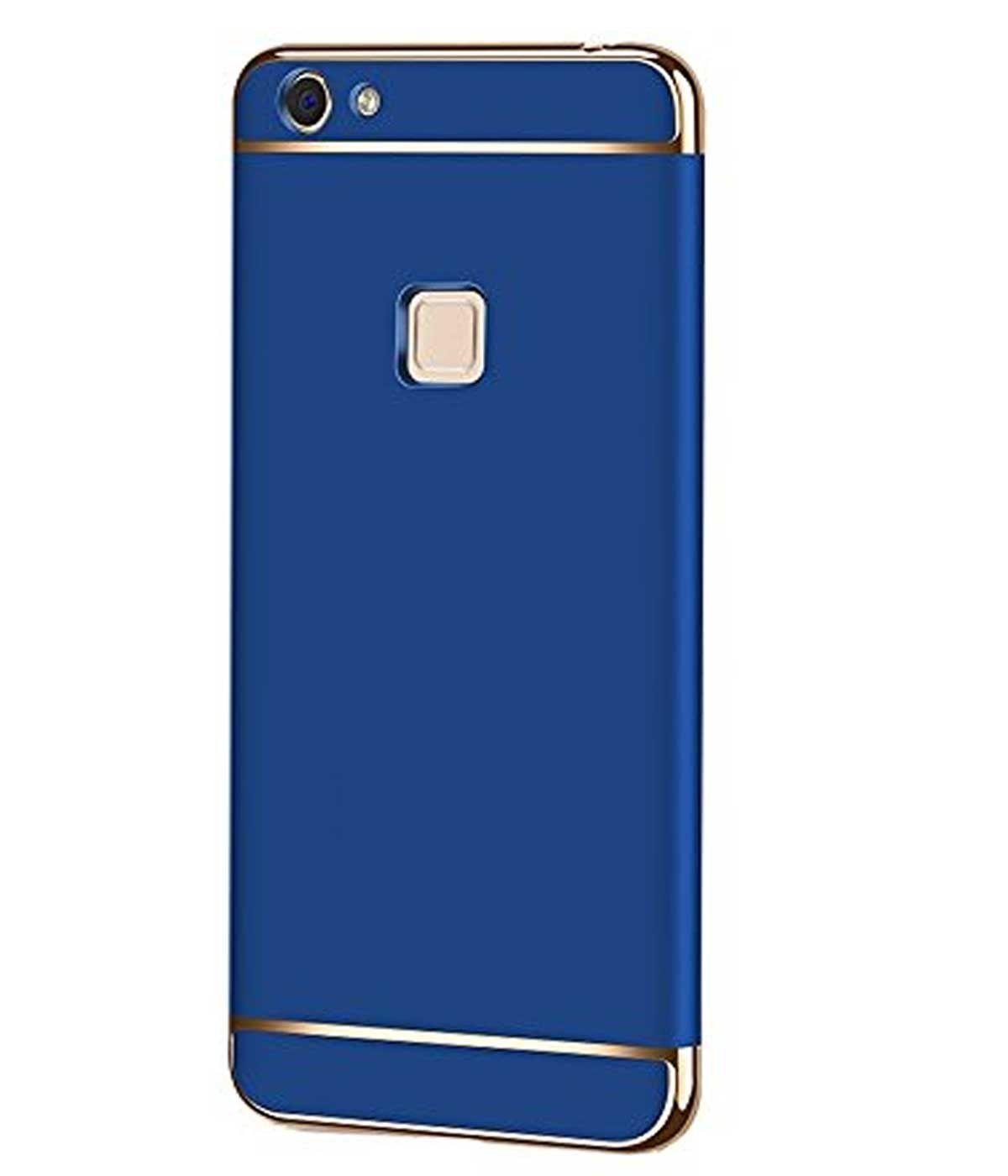 new product d66a1 14d30 vivo V7 plus Plain Cases TBZ - Blue