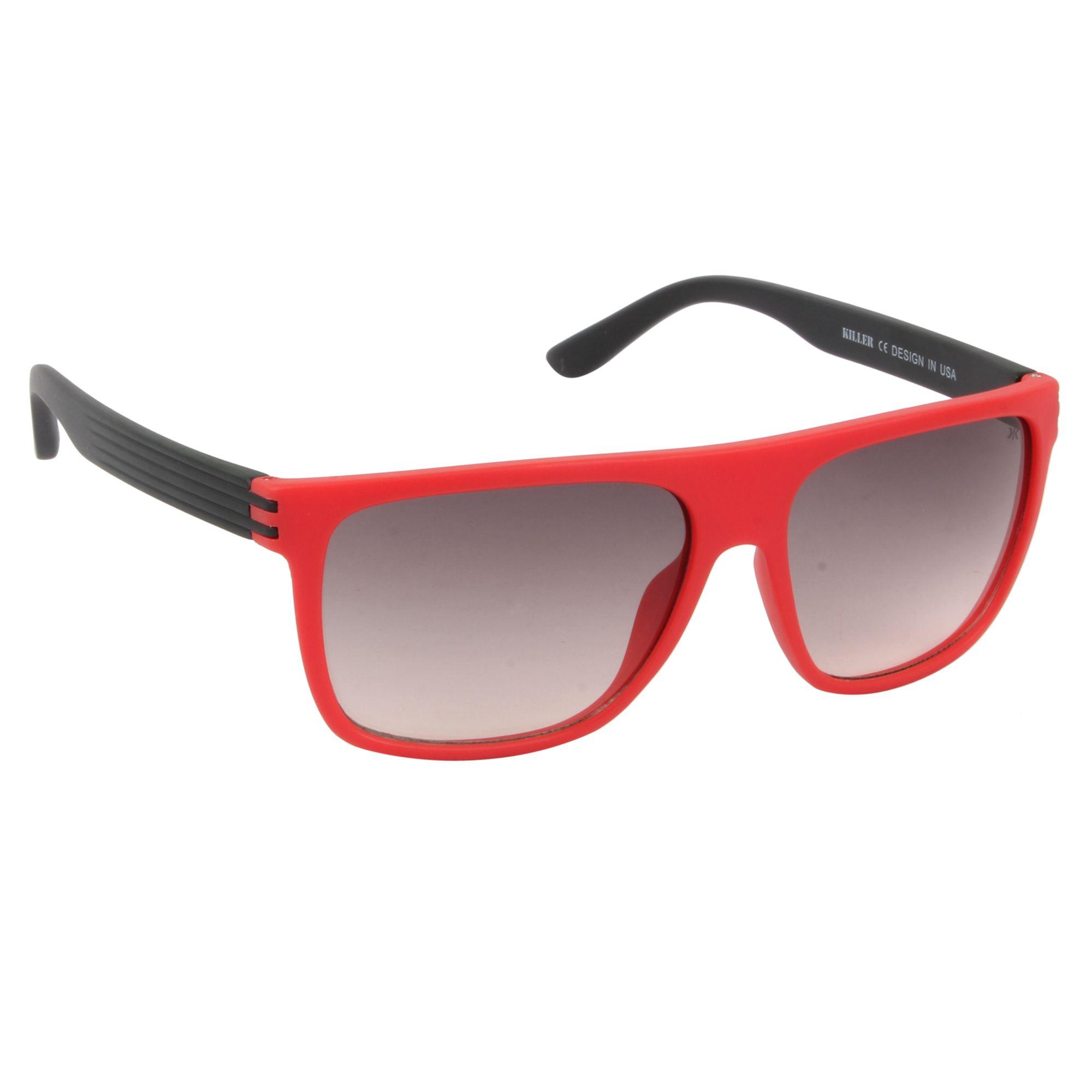 KILLER Grey Square Sunglasses ( KL3032 )