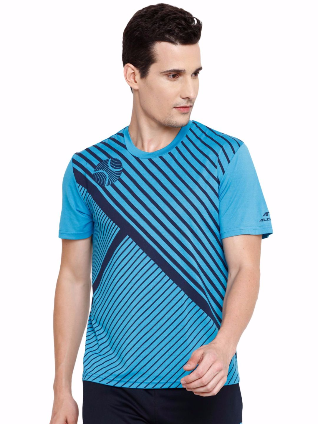 Alcis Men Blue Court Tee