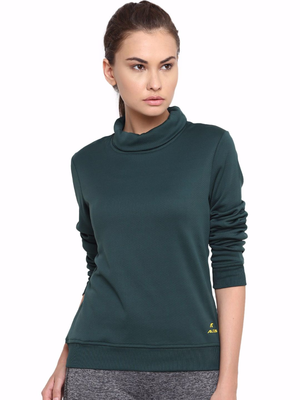 Alcis Women Green Slounge Sweat
