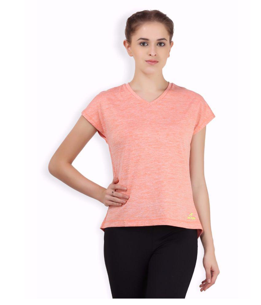 Alcis Women Orange Love Top