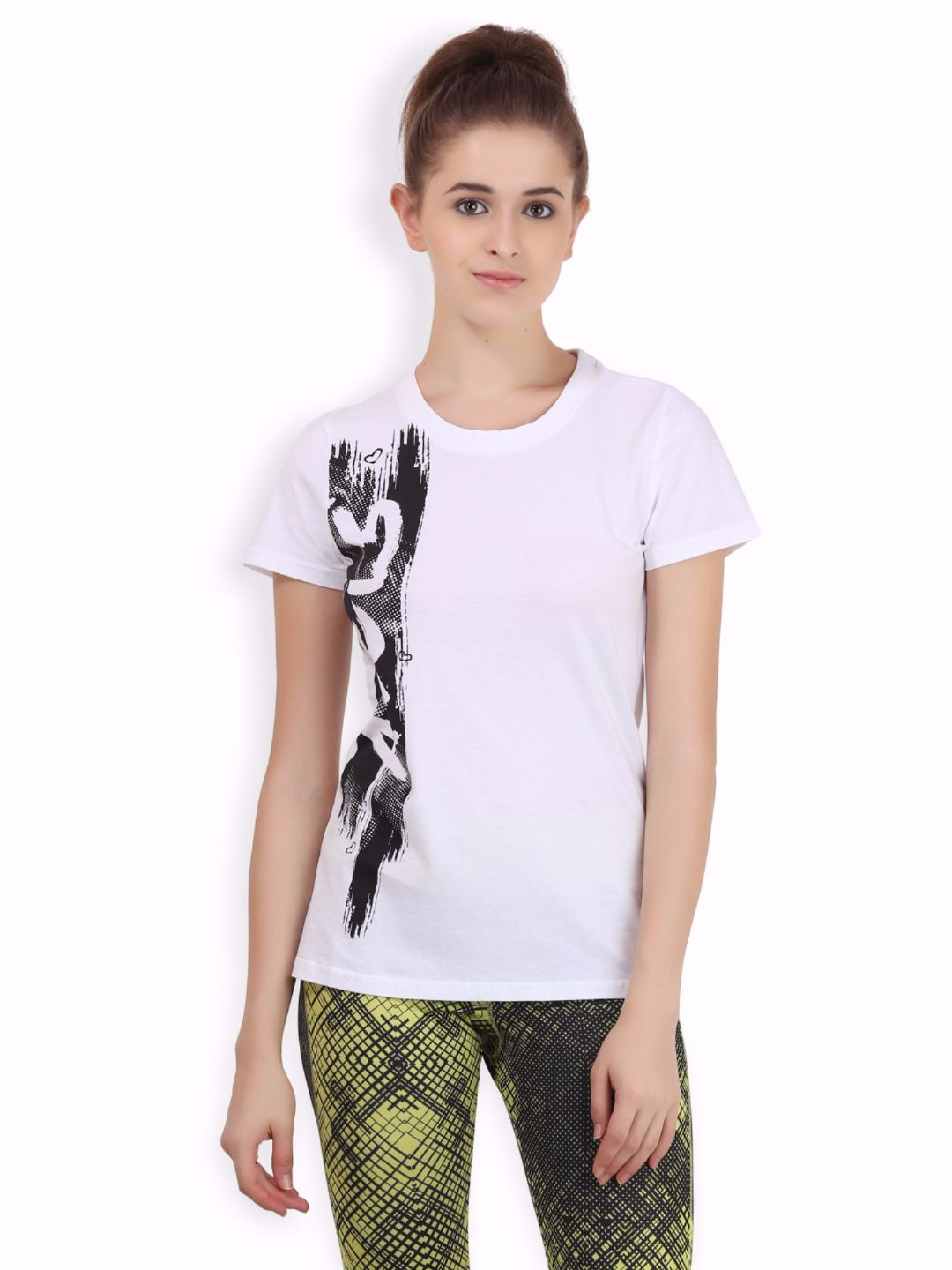 Alcis Women White Core Tee