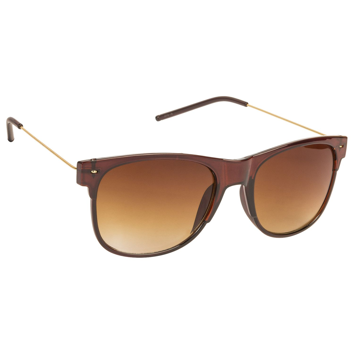 Arzonai Brown Wayfarer Sunglasses ( MA-079-S4 )