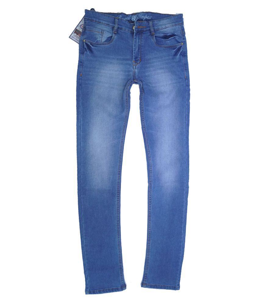 Royal Impex Light Blue Slim Jeans