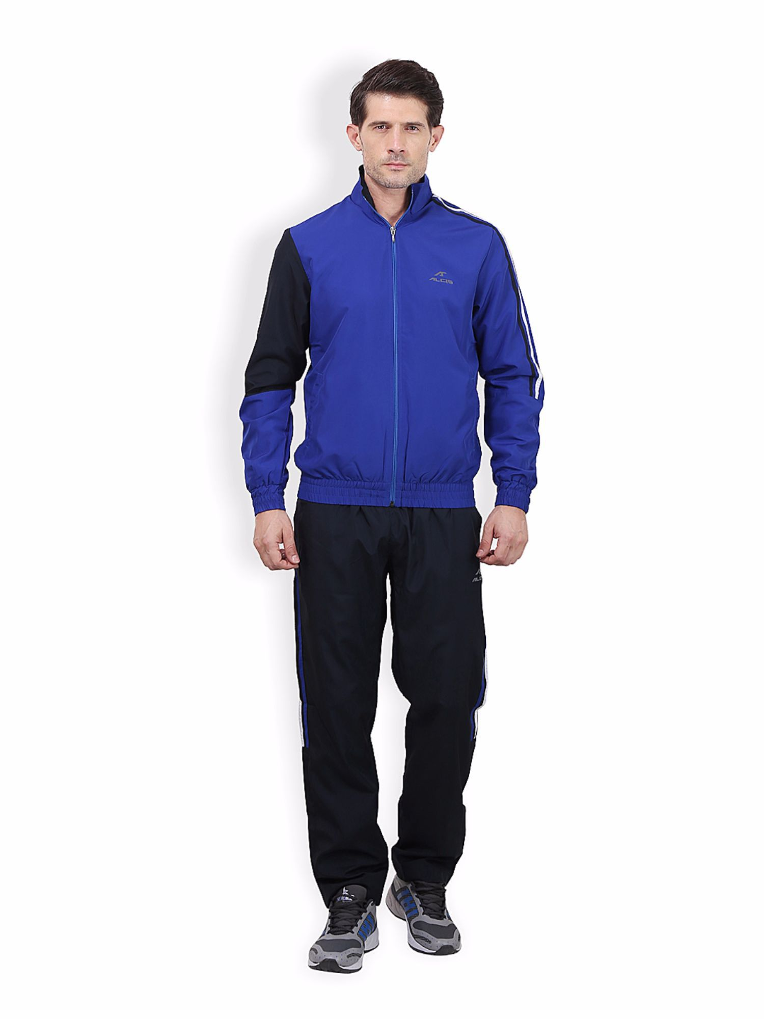 Alcis Men Blue Active Tracksuit