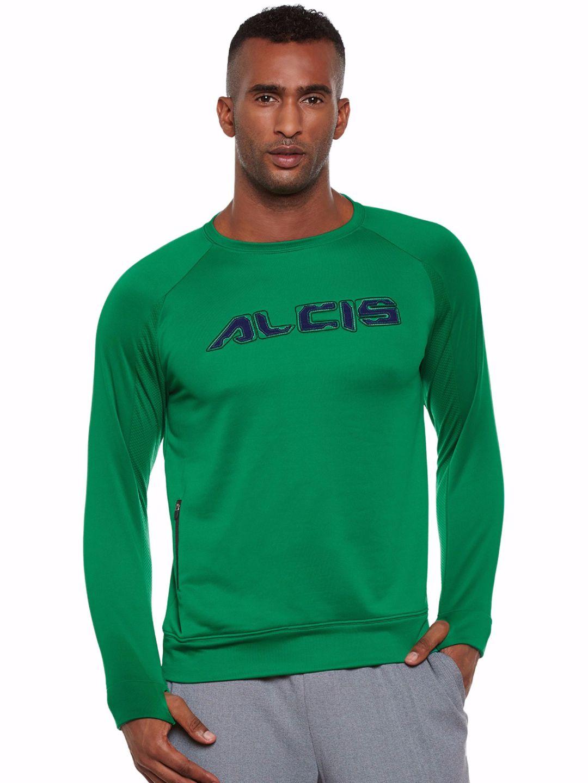 Alcis Men Green Core Sweat