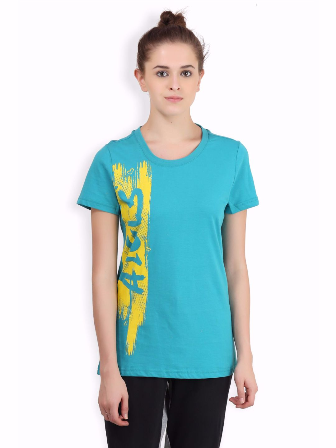 Alcis Women Blue Core Tee