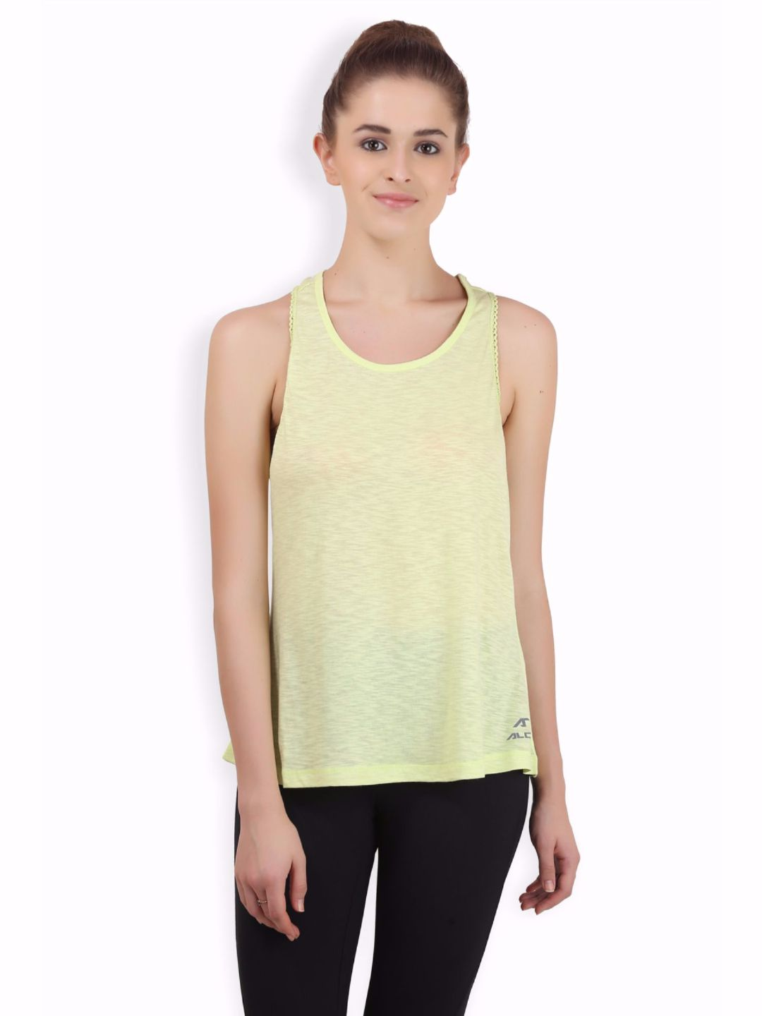 Alcis Women Green Top