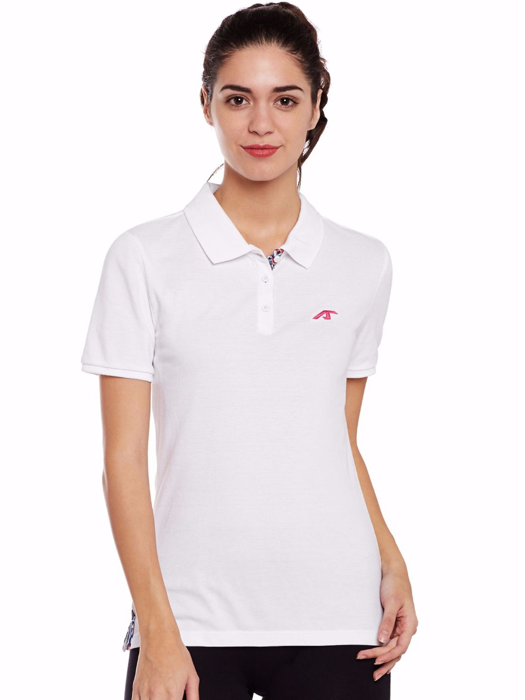 Alcis Women White Core Polo