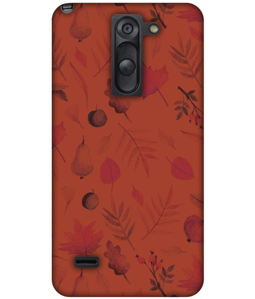 Lg G3 Stylus Printed Cover By AMZER