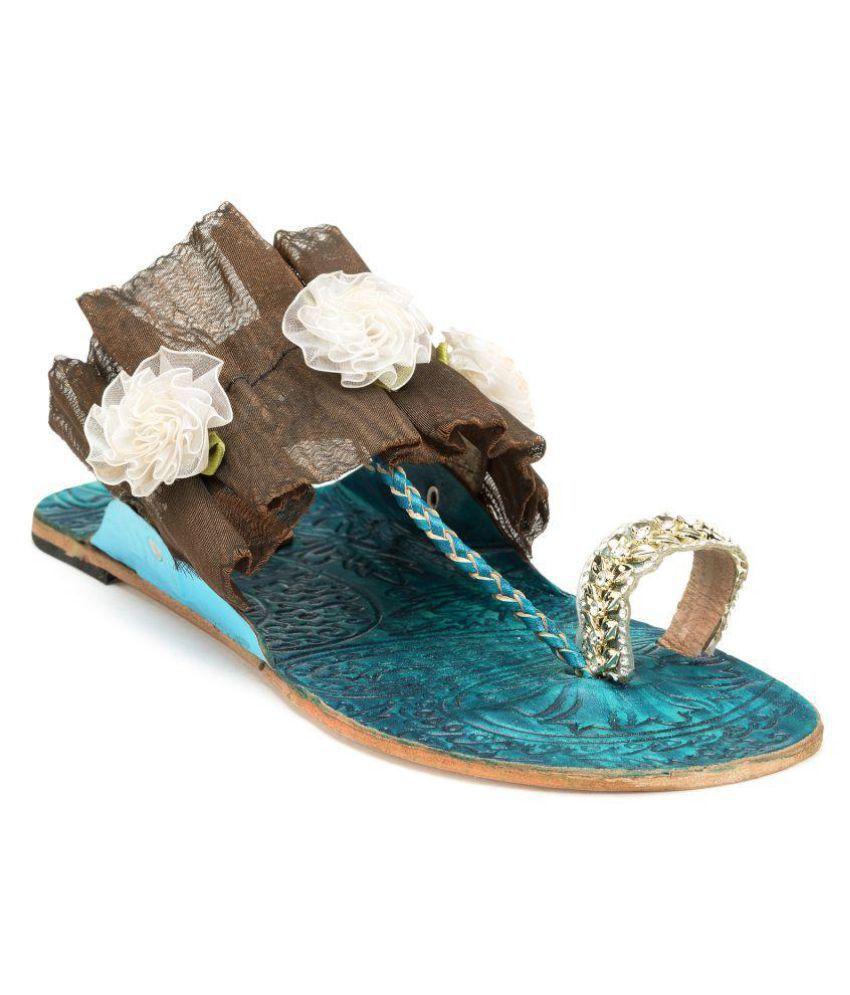 N-Gal Multi Color Ethnic Footwear