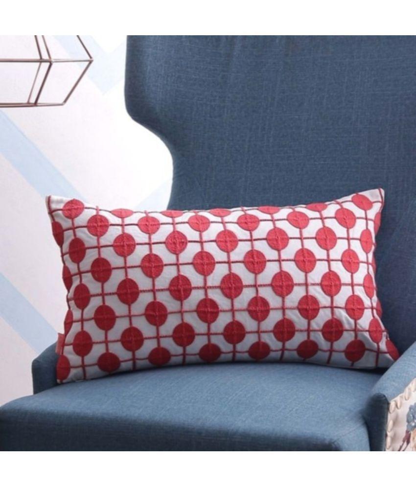 SOLAJ Single Cotton Cushion Covers 30X45 cm (12X18)