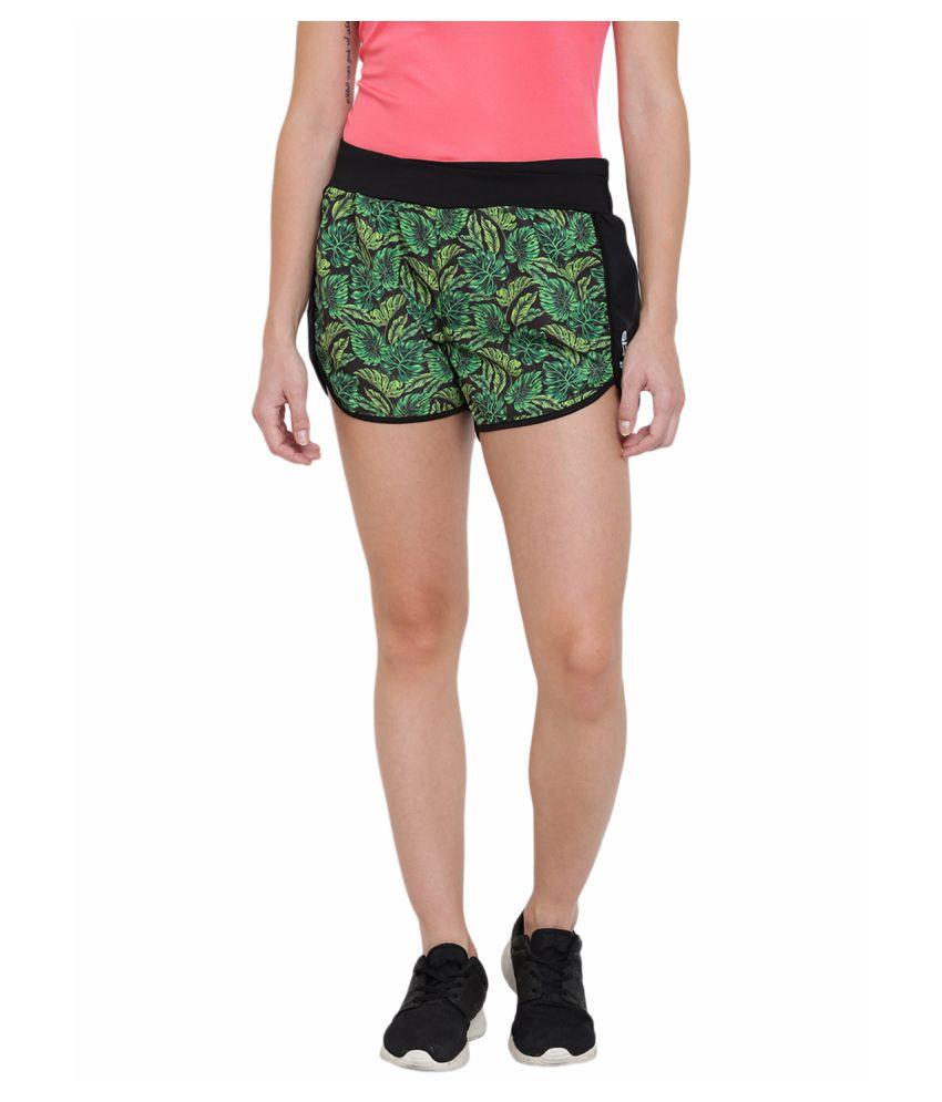 Alcis Womens Black Shorts