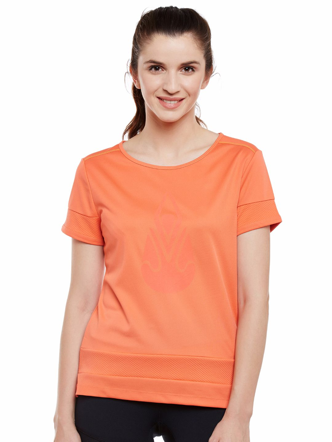 Alcis Womens Orange Tee