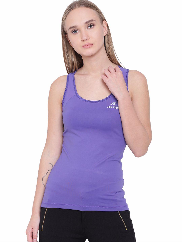 Alcis Womens Purple Top