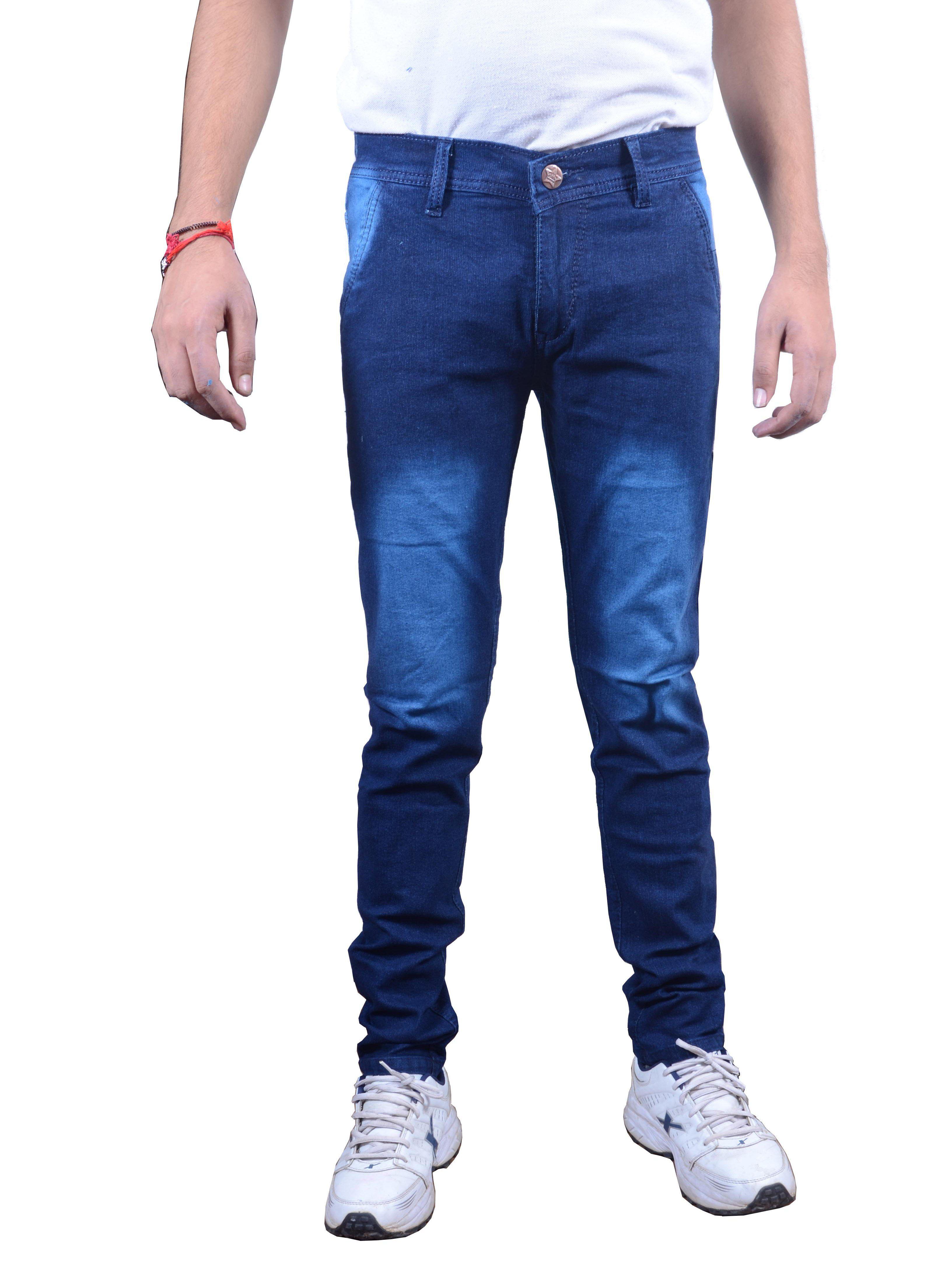 Zimboo Blue Regular Fit Jeans
