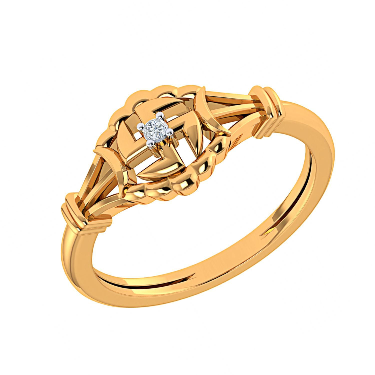 Me Jewels 18k Gold Ring