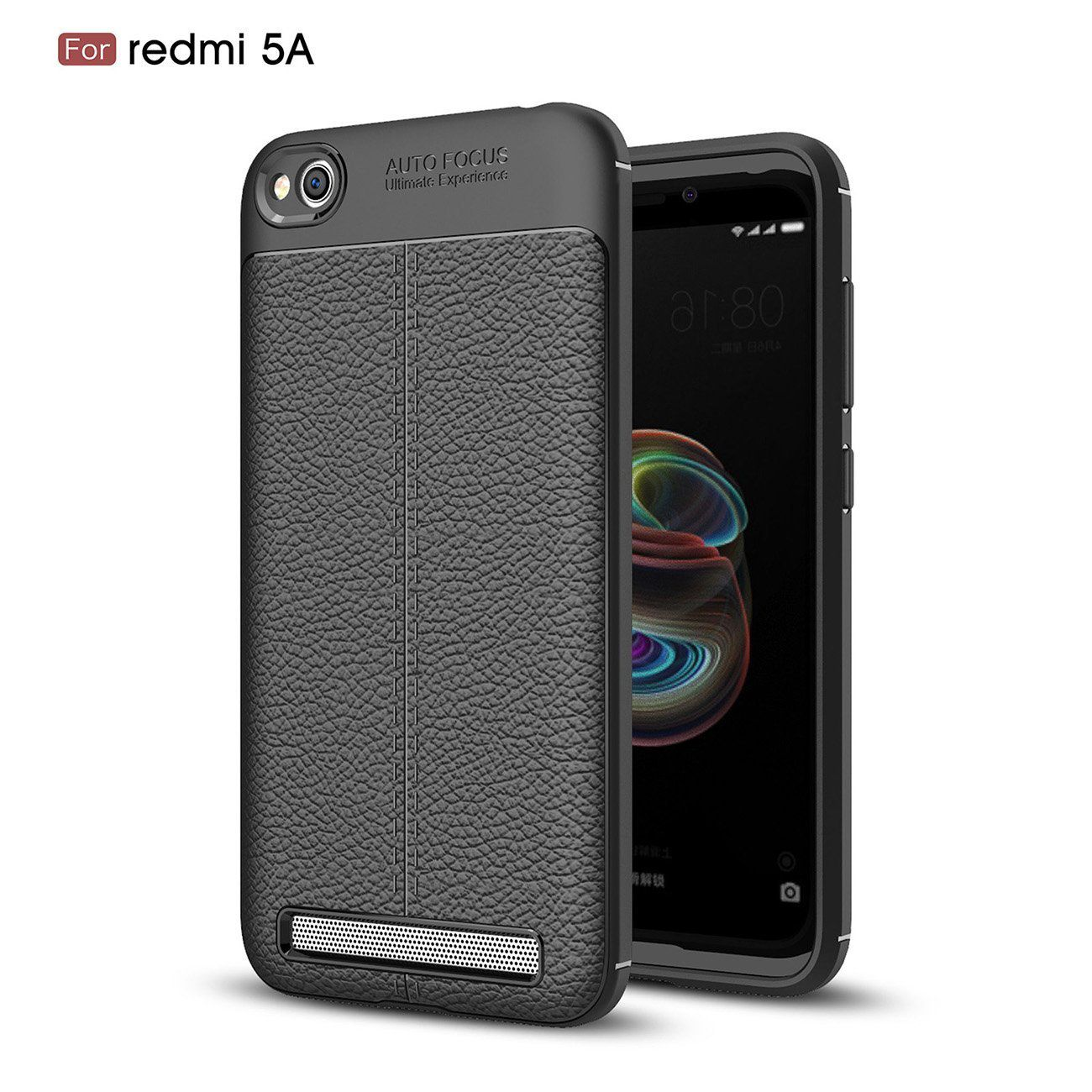 best service 1d32b 5e2cc Xiaomi Redmi 5A Soft Silicon Cases Wow Imagine - Black