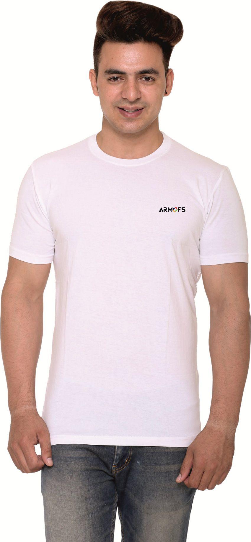 ARMOFS White Round T-Shirt Pack of 1