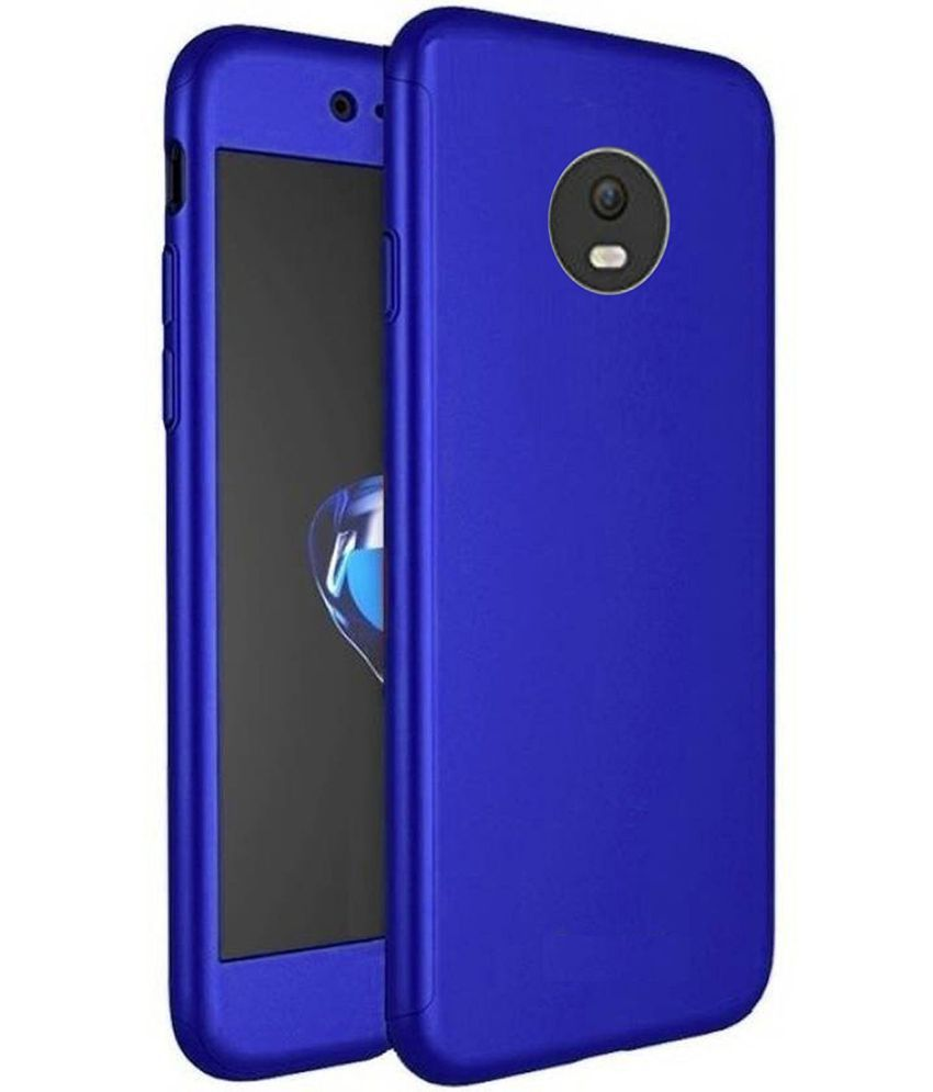 Motorola Moto C Plus Bumper Cases Worth IT - Blue