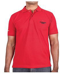 AdventureWorx Red Slim Fit Polo T Shirt