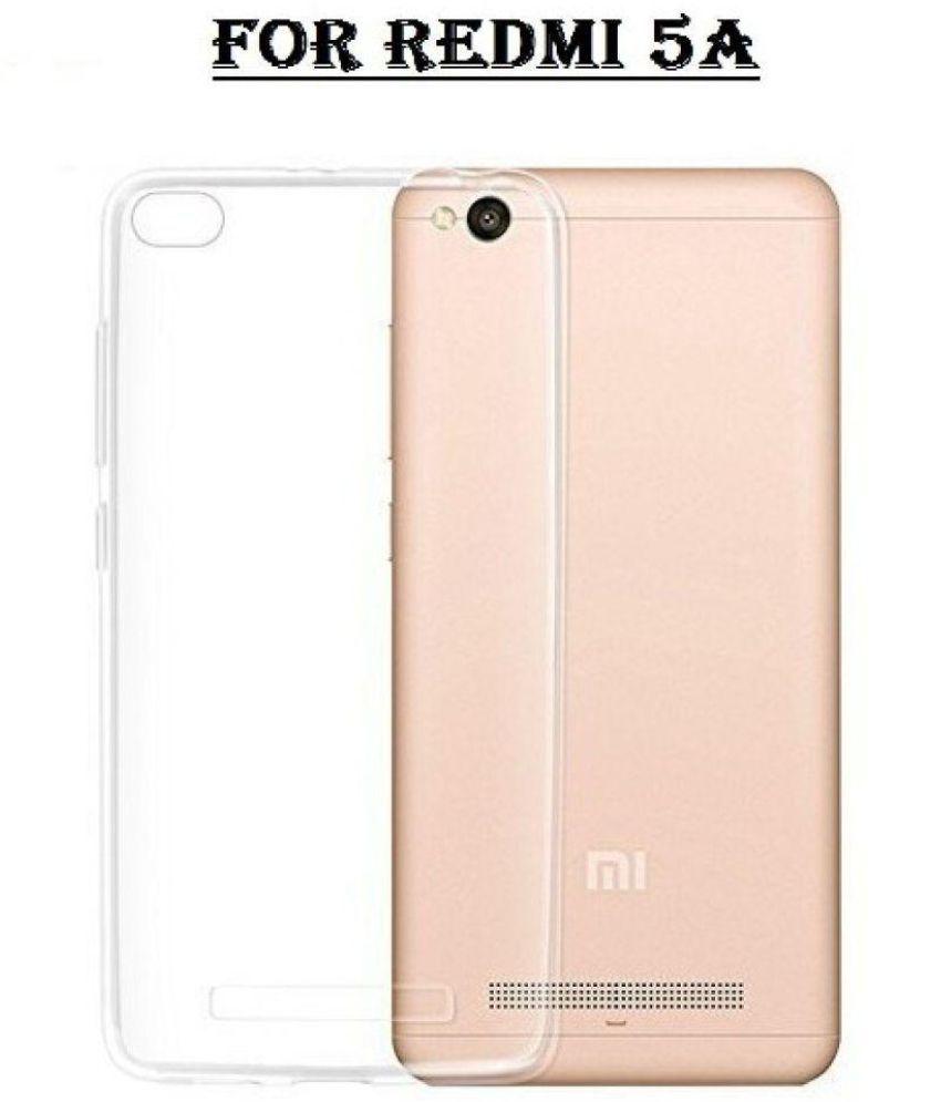 on sale 3d99a 358db Xiaomi Redmi 5A Soft Silicon Cases Galaxy Plus - Transparent
