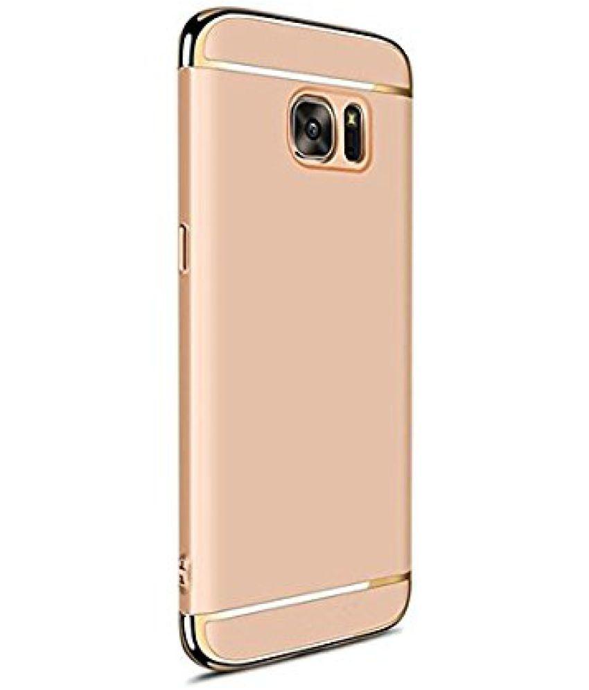 pretty nice 454e9 9a01b Samsung Galaxy J7 Max Plain Cases Ipaky - Golden