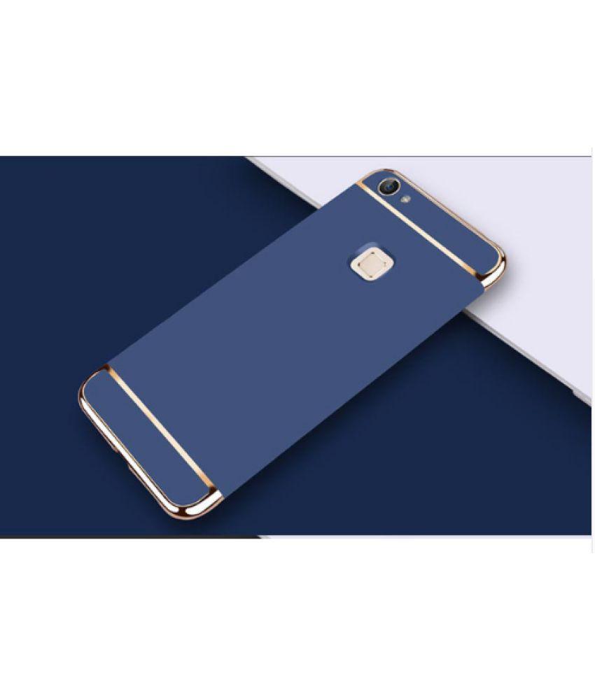 vivo V7 plus Plain Cases Ipaky - Blue