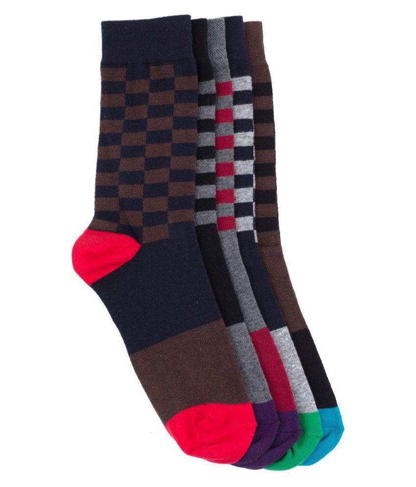 Tossido Multi Formal Full Length Socks