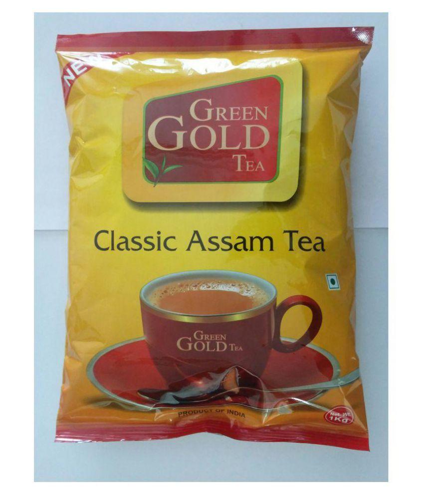 Green Gold Tea Assam Black Tea Powder 1 Kg
