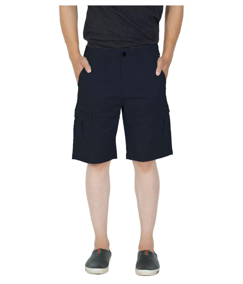 KOTTY Navy Shorts