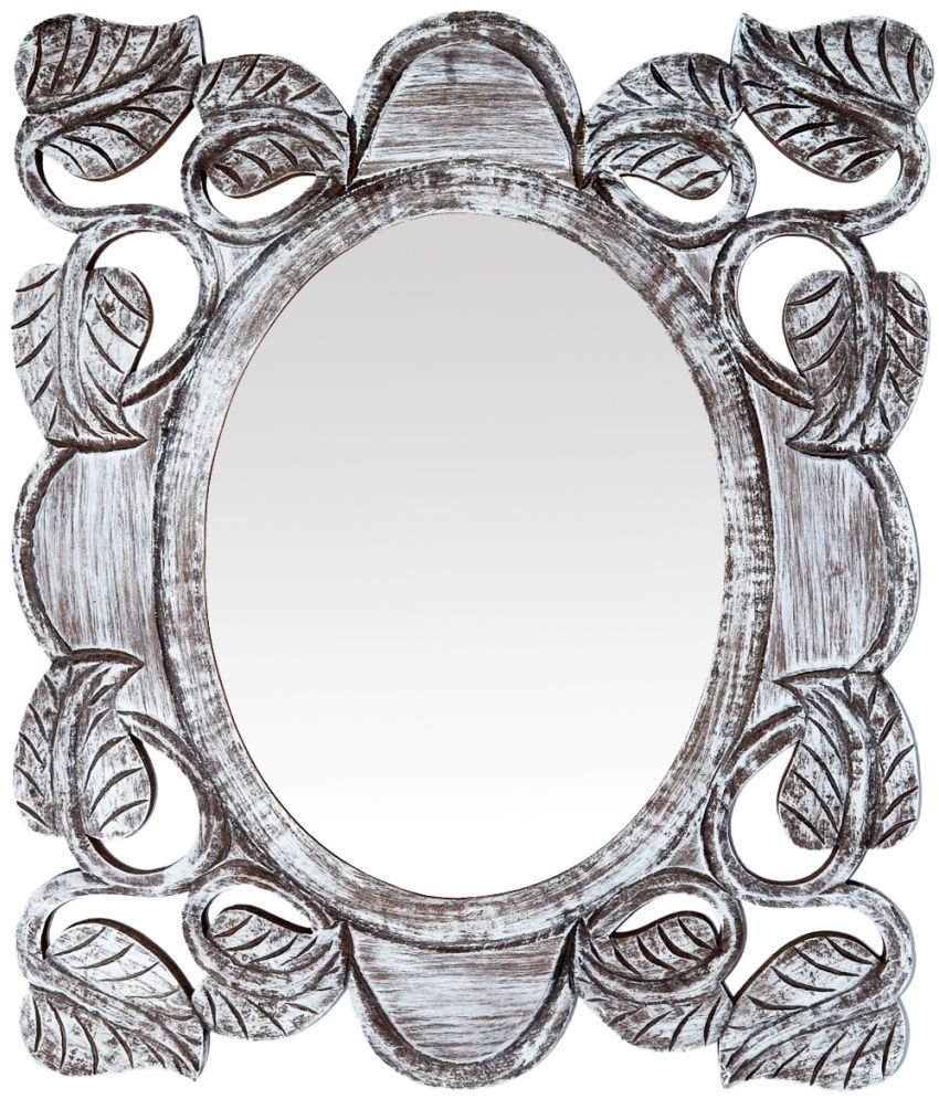 The Urban Store Mirror Decorative Mirrors Wall Mirror White Pack Of 1 Buy The Urban Store Mirror Decorative Mirrors Wall Mirror White Pack Of 1 At Best Price In India On Snapdeal