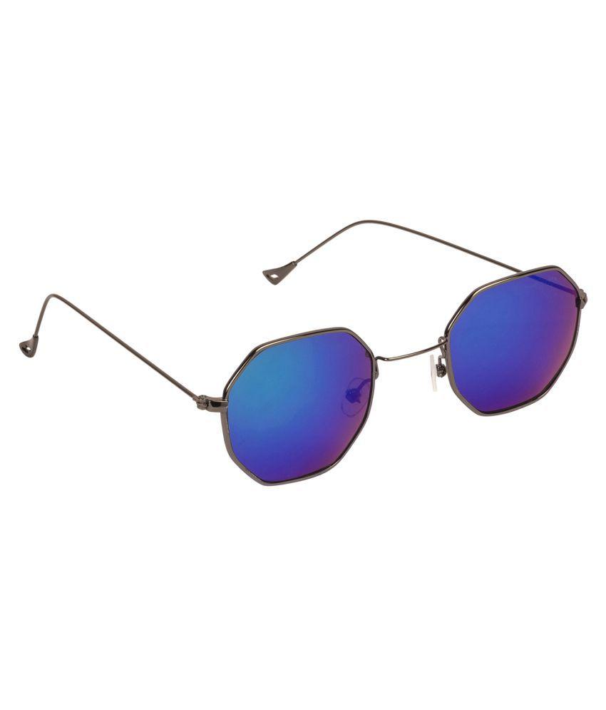Arzonai Green Oval Sunglasses ( MA-045-S5 )