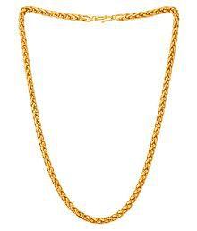 Dare by Voylla Golden Links Spiga Link Chain