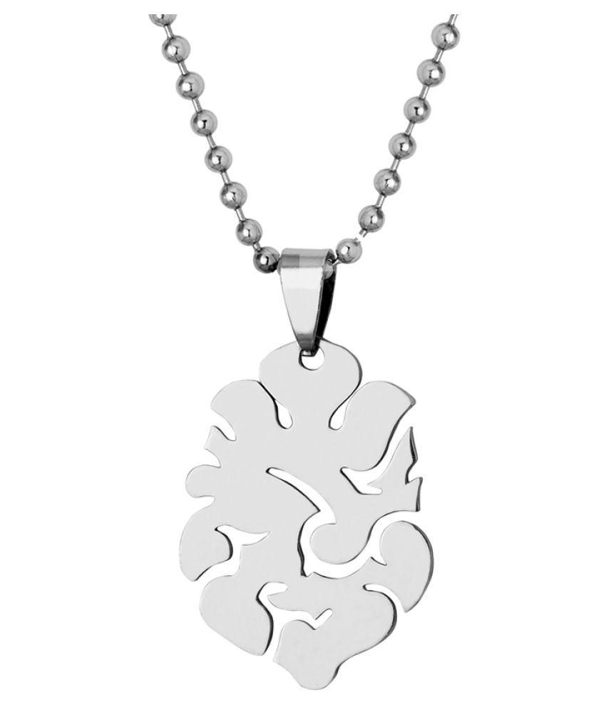 Dare by Voylla Silver Plated Ganpati Pendant