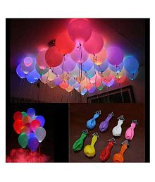 Junos LED Balloons Party Decor - Pack Of 15