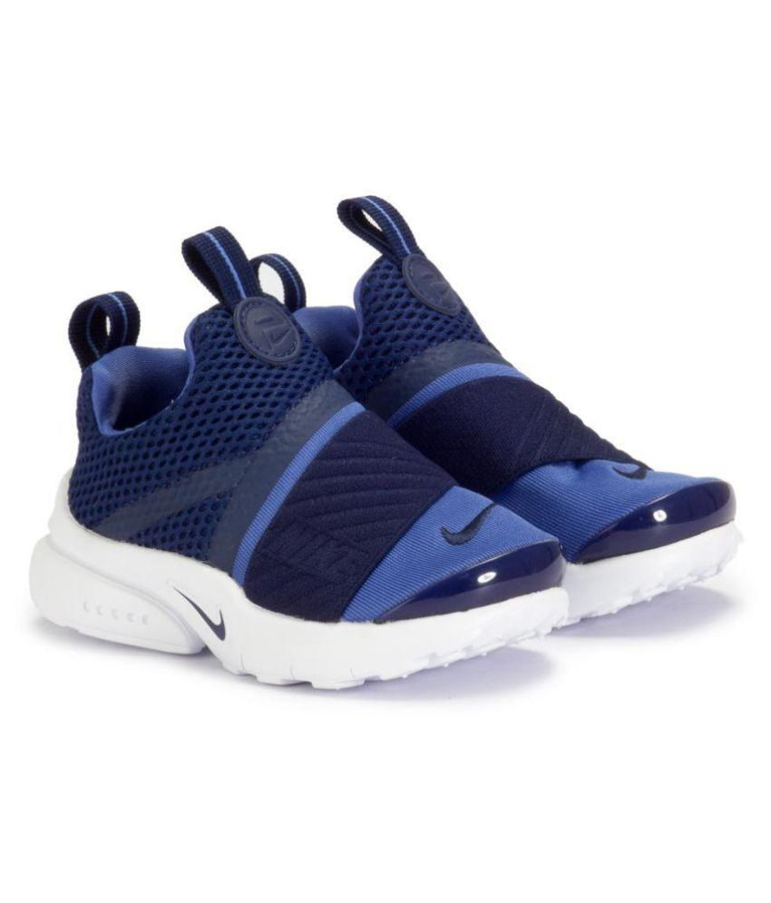 afd25405ceb8 Nike Presto EXTREME (GS) COMET Blue Running Shoes - Buy Nike Presto EXTREME  (GS) COMET Blue Running Shoes Online at Best Prices in India on Snapdeal