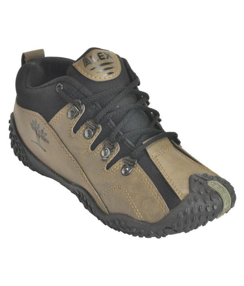 ALEX FOOTLAND Outdoor Tan Casual Shoes sale best prices buy cheap Inexpensive VGviGp