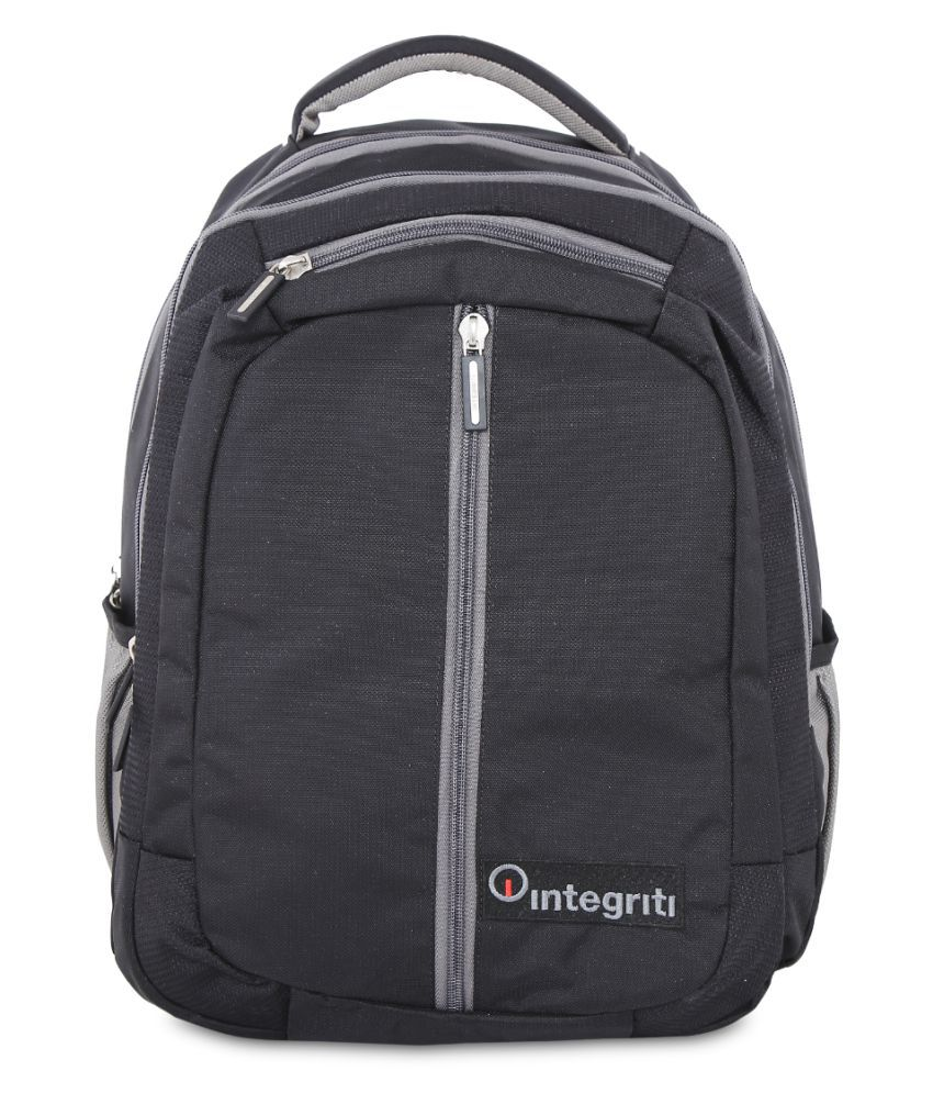 Integriti Black Backpack