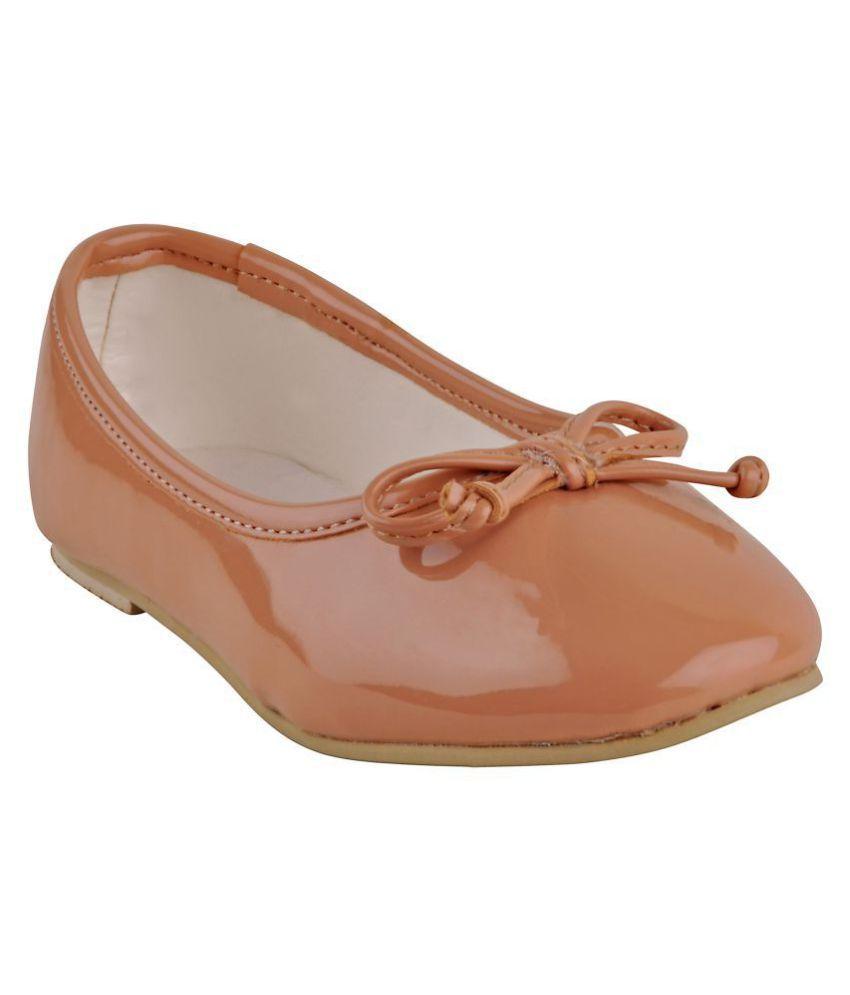 Beanz Ballerina Beige Casual Kids Footwear