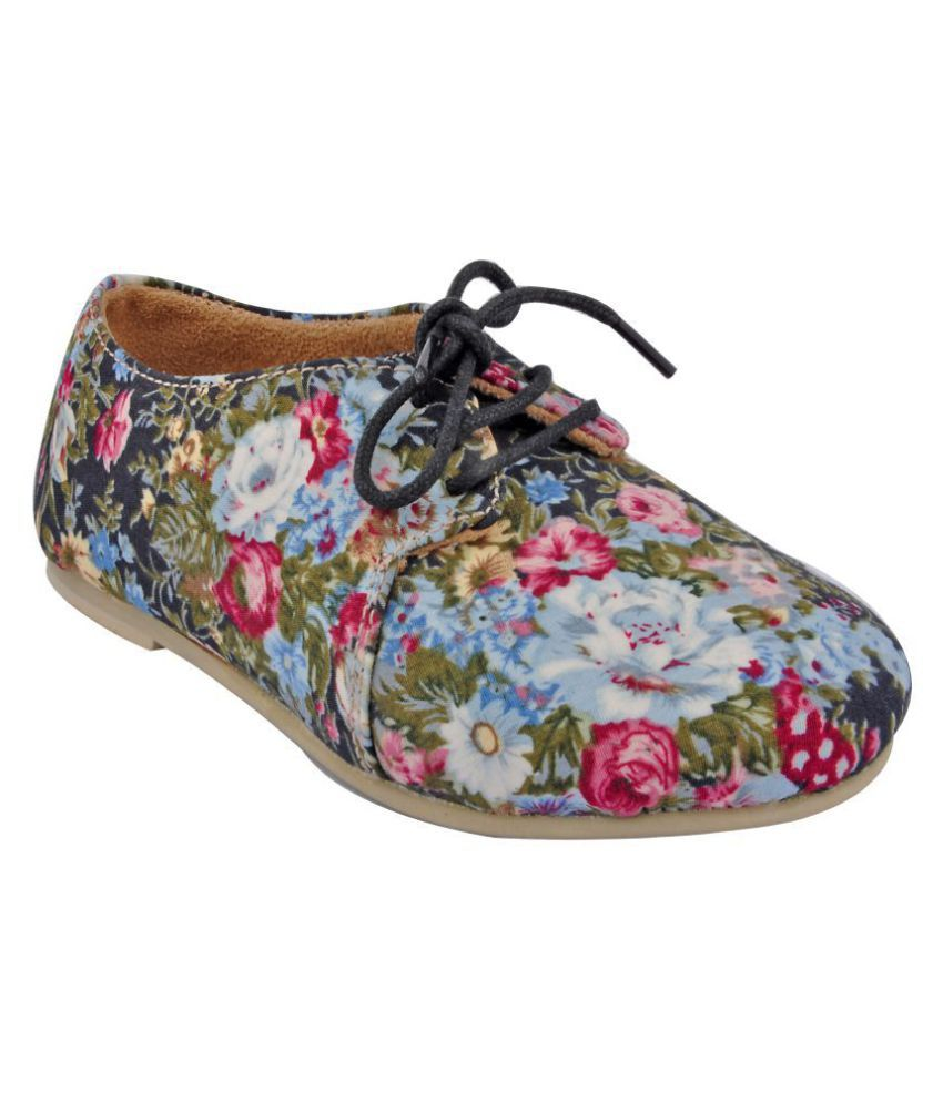 Beanz Ballerina Multi Color Kids Footwear