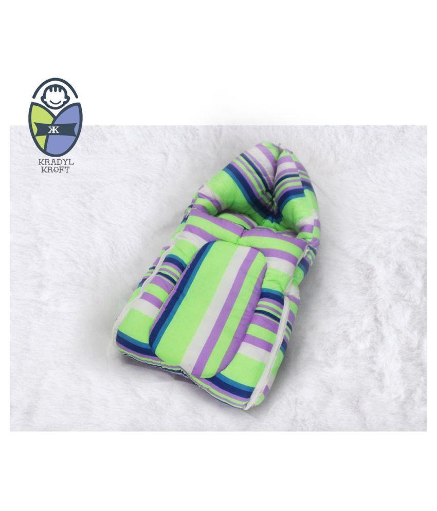 Kradyl Kroft Multi-Colour Cotton Sleeping Bags ( 122 cm × 50 cm)