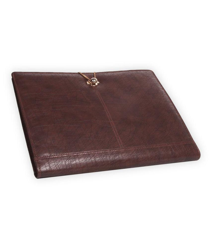 Coi Brown Document Folder / Conference Folder with pad and pen