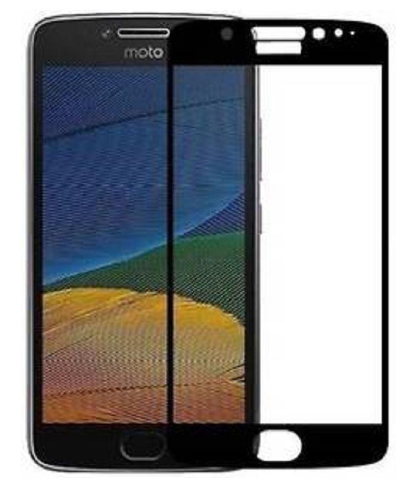 Motorola Moto E4 Color Glass Screen Guard By CELL SHIELD