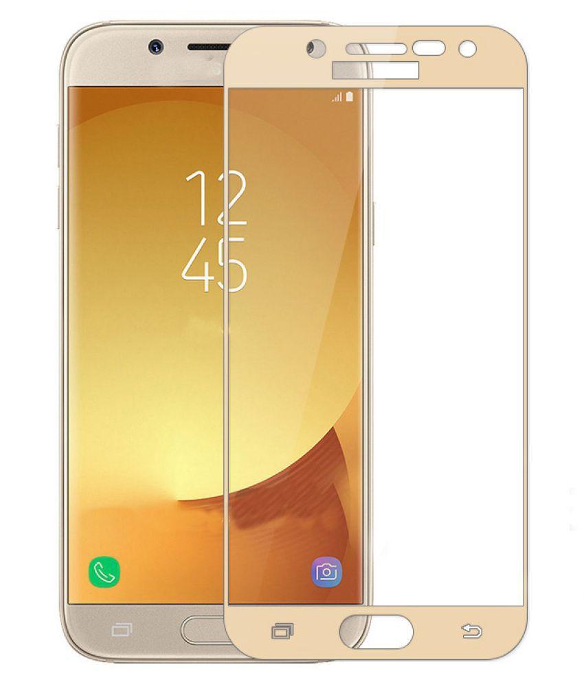 Samsung Galaxy J5 Color Glass Screen Guard By NINE H 9H